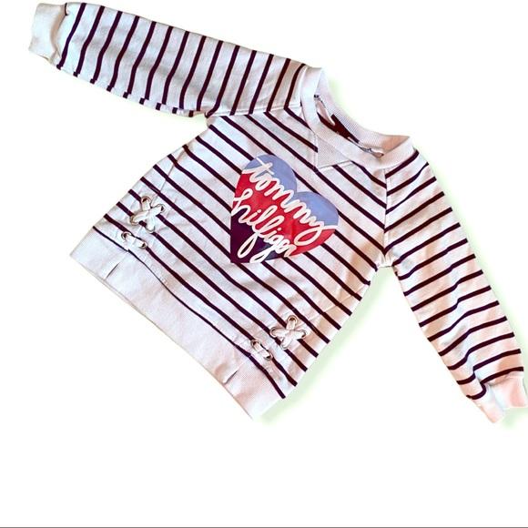 Tommy Hilfiger Other - Tommy Hilfiger girls sweatshirt Sz 12 months